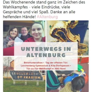 Katharina Schenk on Tour